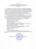 Справка о финансово-хозяйственной деятельности на 2014 год