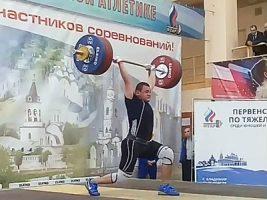 Кирилл Чалкин - Владимир 2018 - 168 кг