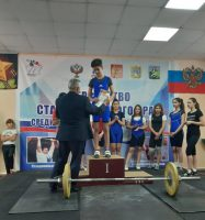 Первенство Ставропольского края по тяжелой атлетике среди юношей и девушек 2005 г.р. и младше 2019