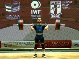 Сергей Петров на Кубке мира 2020 в Риме